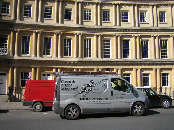 bath-window-cleaning - the circus-bath