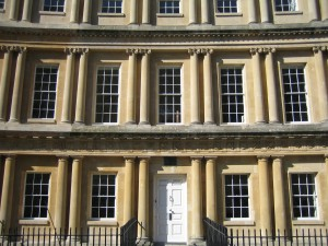 Clean and bright windows cleaning a stunning Bath property