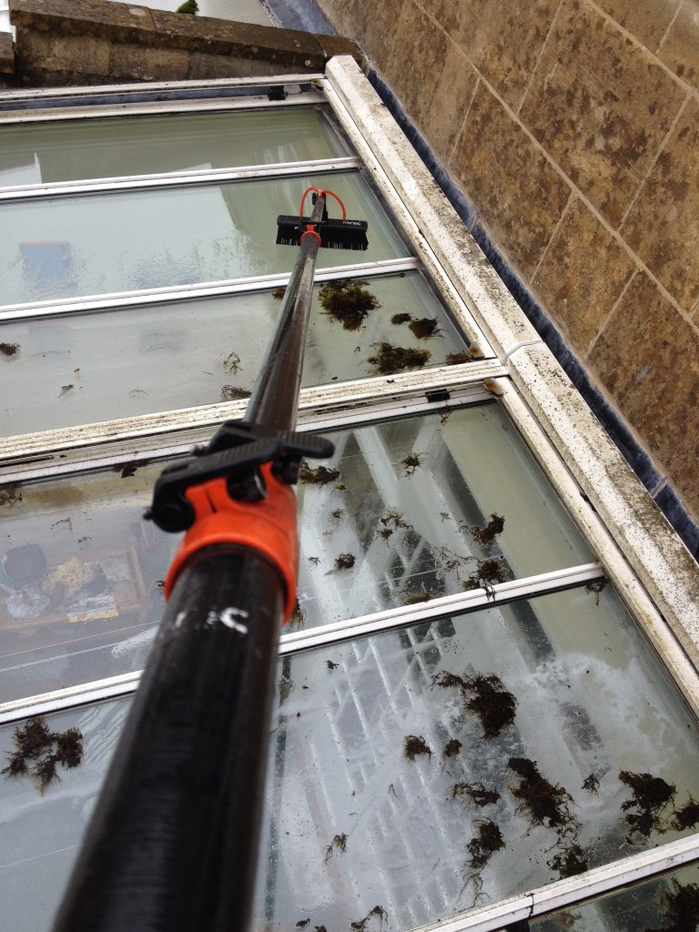 residential windows cleaning bath - clean and bright windows
