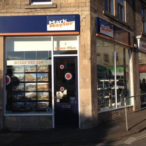Commercial Window Cleaners, Bath - estate agent window